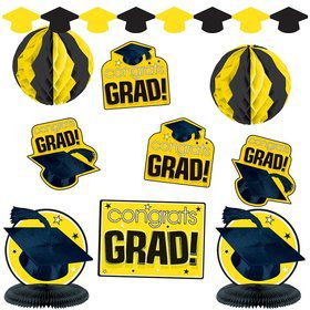 Graduation Yellow Decorating Kit (Each)