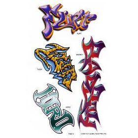 Graffiti Tattoos (each)
