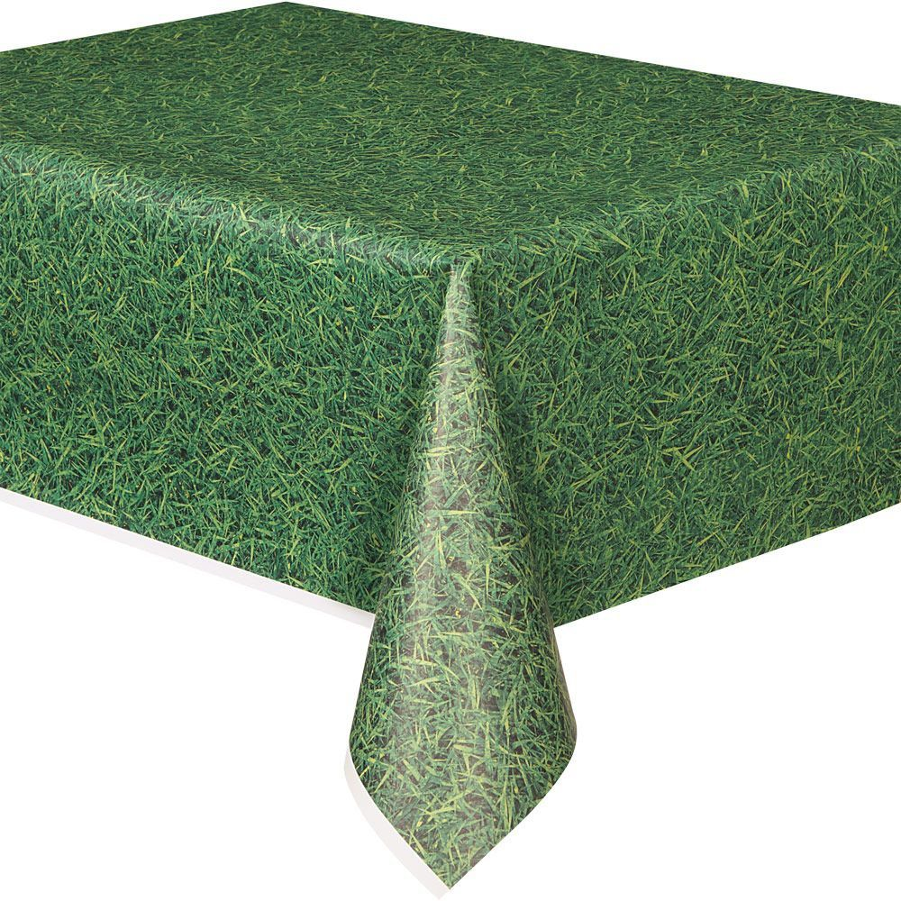 Gr Print Plastic Table Cover Each
