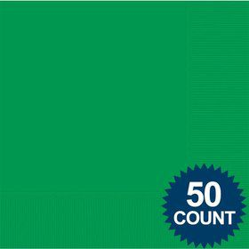 Green 2-Ply Luncheon Napkins, 50 ct.