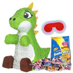 Green Baby Dinosaur Pinata Kit