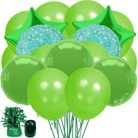 Green Balloon Bouquet Kit