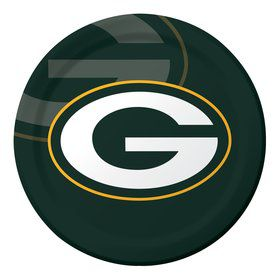 "Green Bay Packers 9"" Luncheon Plates (8 Count)"