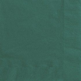Green Beverage Napkins (50 Pack)