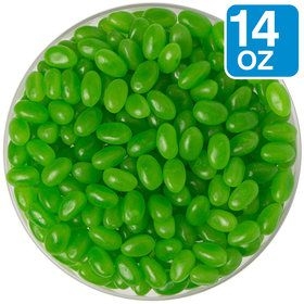 Green Jelly Beans 14 oz Bag (Each)