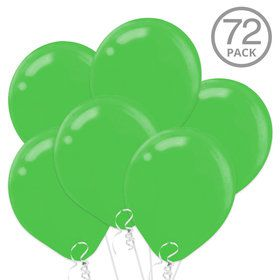 Green Latex Balloons (72 Count)