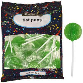 Green Lollipops (28 Count)