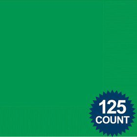 Green Luncheon Napkins (125 Pack)
