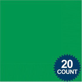 Green Luncheon Napkins (20 Pack)