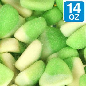 Green Sour Hearts 14 oz Bag (Each)