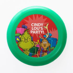 Grinch Personalized Mini Discs (Set of 12)
