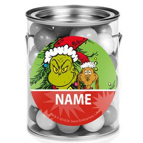 Grinch Personalized Mini Paint Cans (12 Count)