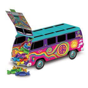 Groovy 60's Van Centerpiece Decoration (Each)