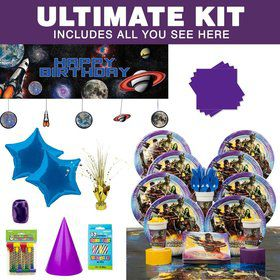 Guardians of the Galaxy Birthday Party Ultimate Tableware Kit Serves 8