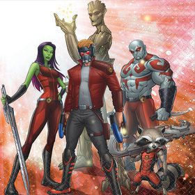 Guardians Of The Galaxy Luncheon Napkins (16 Count)