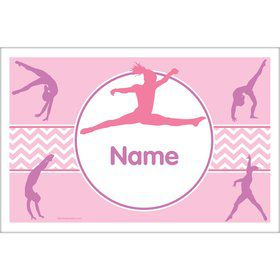 Gymnastics Personalized Placemat (Each)
