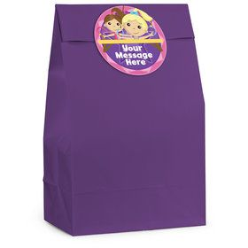 Gymnastics Star Personalized Favor Bag (12 Pack)