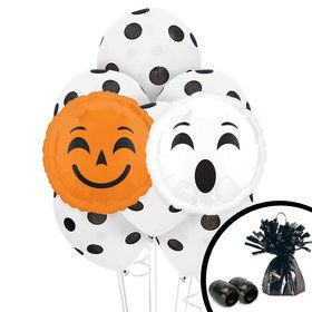 Halloween Emoji Balloon Bouquet