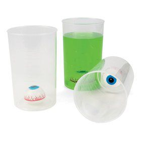 Halloween Eyeball Beaker Cup (Each)