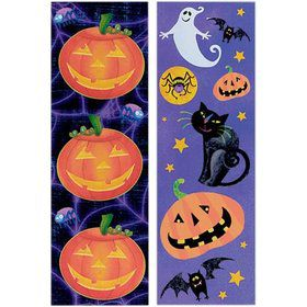 Halloween Fun Sticker Strips (8 Count)