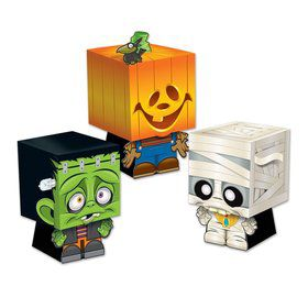 Halloween Ghoulies Favor Boxes (3 Pack)