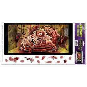 Halloween Microwave Door Decoration