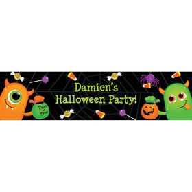 Halloween Personalized Banner (Each)