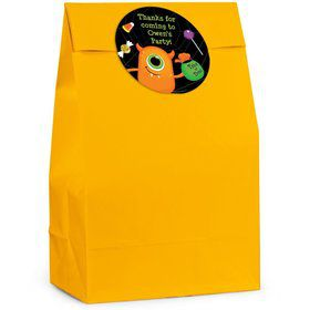 Halloween Personalized Favor Bag (Set Of 12)