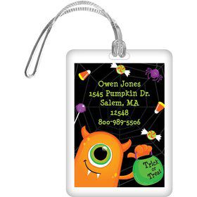Halloween Personalized Luggage Tag (Each)