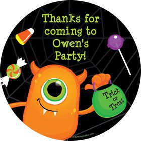 Halloween Personalized Stickers (Sheet of 12)