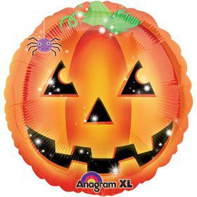 Halloween Playful Pumpkin 18 Inch Balloon (Each)