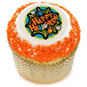 "Halloween Spooktacular 2"" Edible Cupcake Topper (12 Images)"