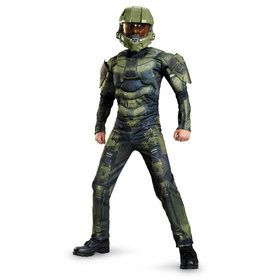 Halo Master Chief Classic Muscle Chest Kids Costume