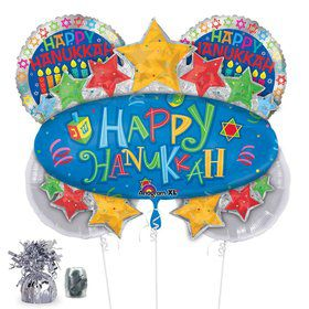Hanukkah Balloon Bouquet (Each)