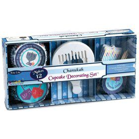 Hanukkah Cupcake Decorating Set