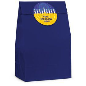 Hanukkah Personalized Favor Bag (12 Pack)