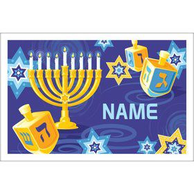 Hanukkah Personalized Placemat (Each)