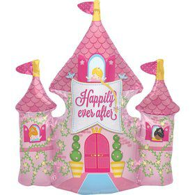 "Happily Ever After Castle 33"" Balloon (each)"