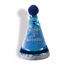 Happy 1st Birthday Blue Hat
