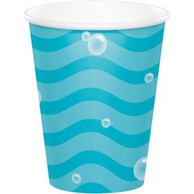 Happy Narwhal 9oz Paper Cups (8)