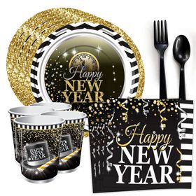 Happy New Year Standard Tableware Kit (Serves 8)