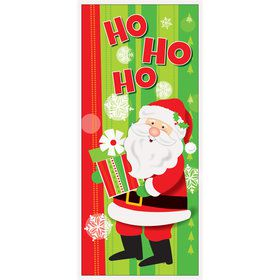 Happy Santa Door Poster (Each)