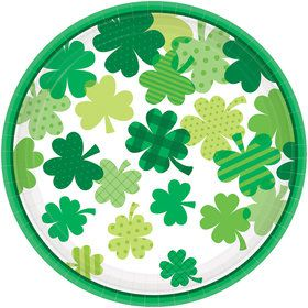 Happy St. Patrick's Day Bloom Dinner Plate (18)