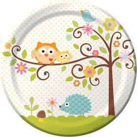 Happy Tree Luncheon Plates (8 Pack)