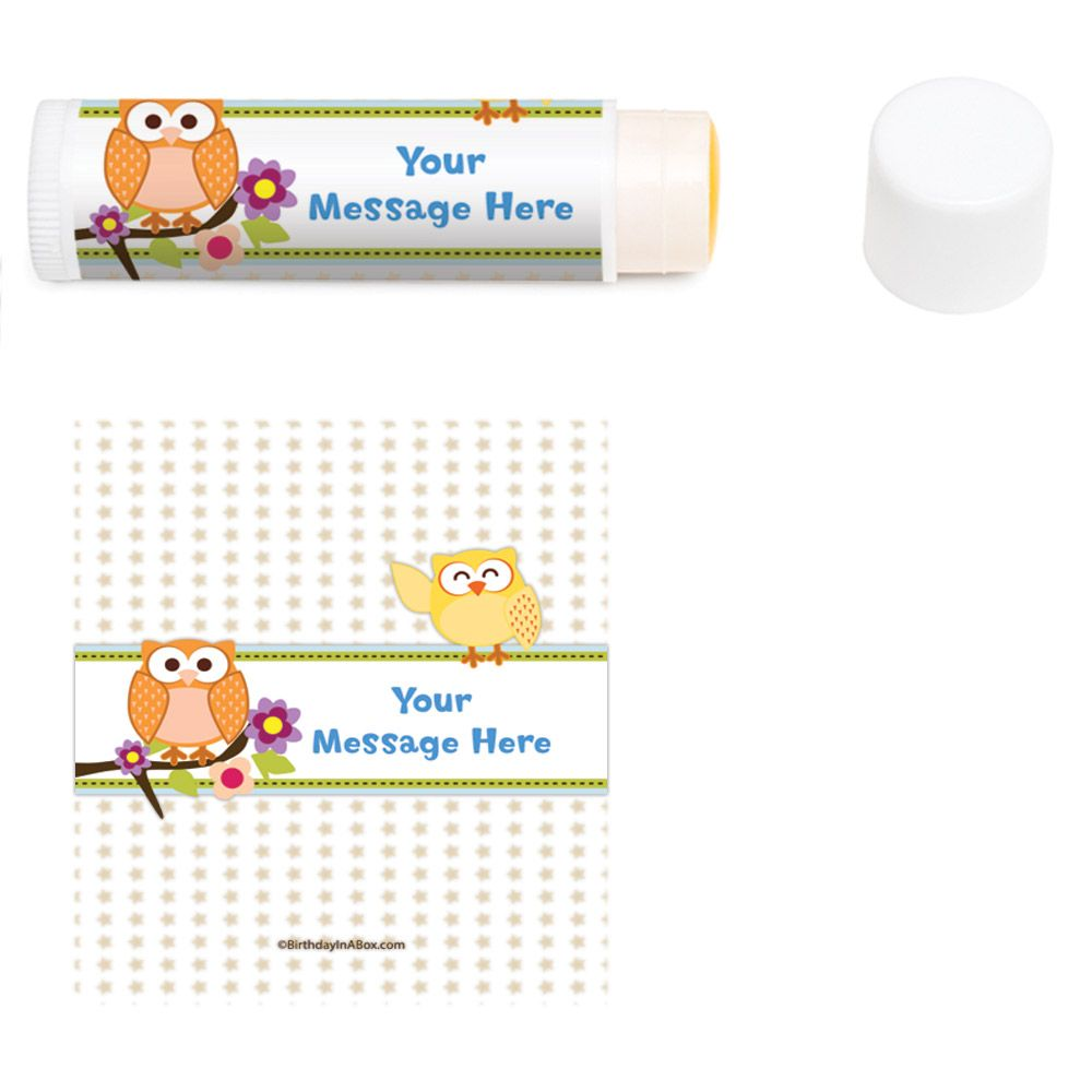 Happy Tree Personalized Lip Balm (12 Pack) BB1365LB