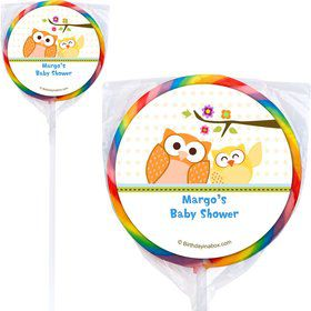Happy Tree Personalized Lollipops (12 Pack)