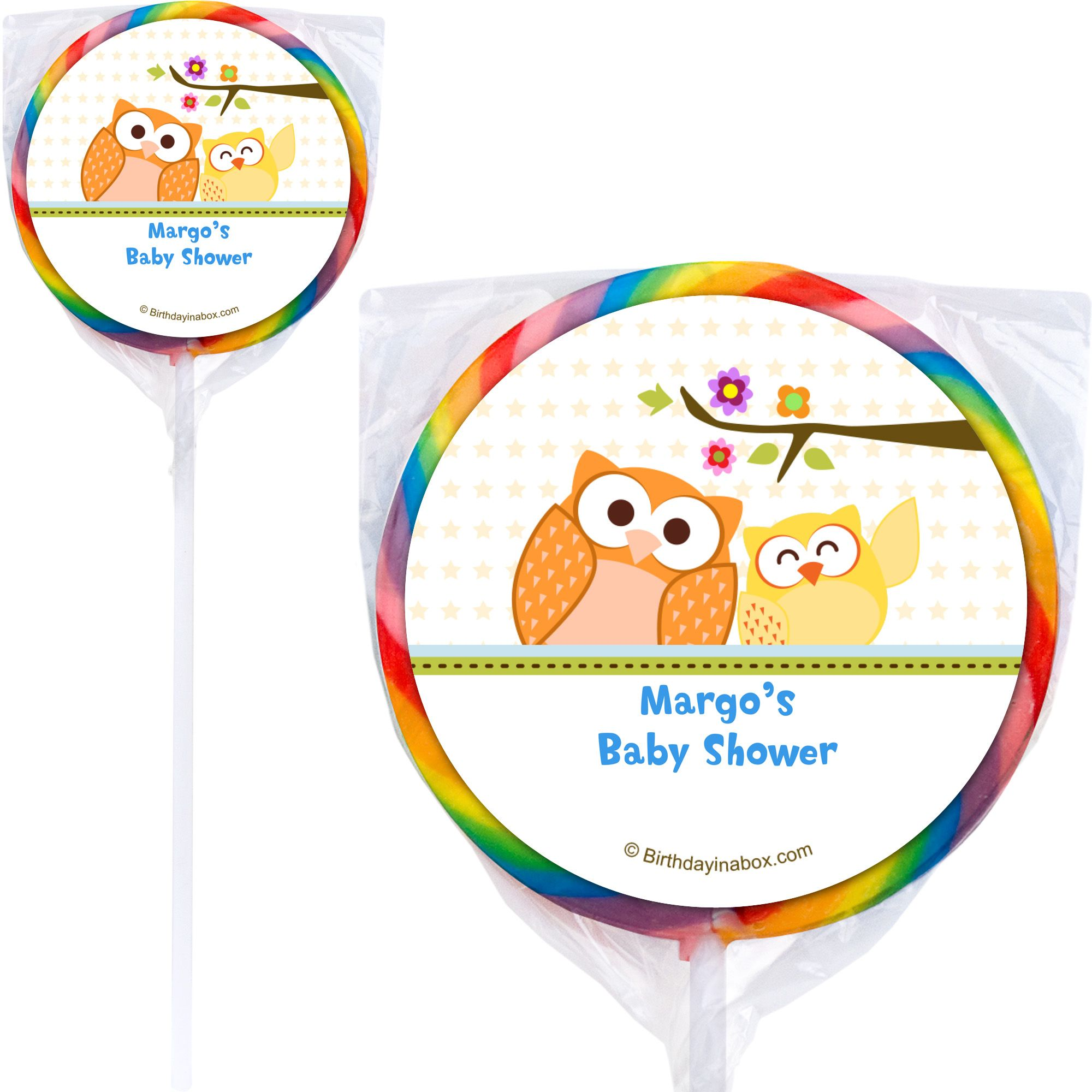 Happy Tree Personalized Lollipops (12 Pack) BB1365PP-B
