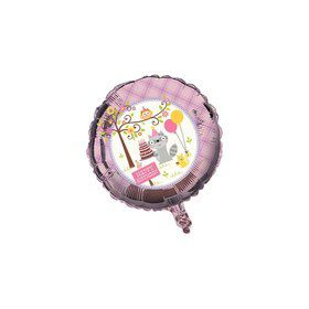 "Happy Woodland Girl 18"" Balloon (Each)"
