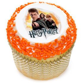 """Harry Potter 2"""" Edible Cupcake Topper (12 Images)"""