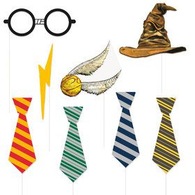 Harry Potter Photo Booth Props (10 Piece)